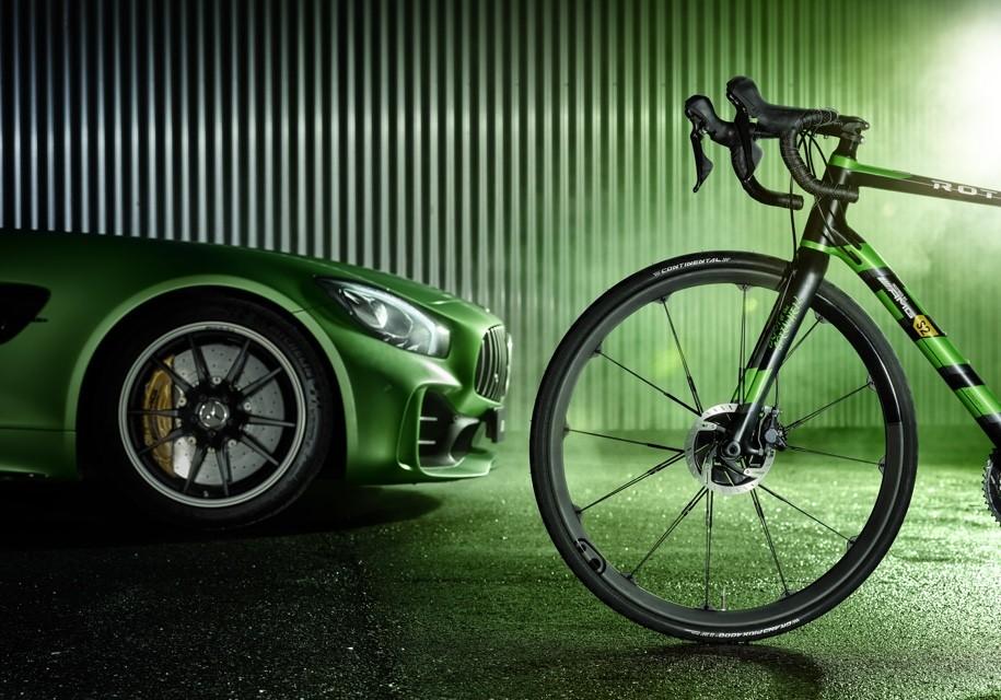 AMG построила карбоновый велосипед