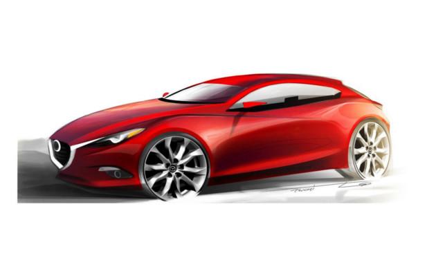 Новая генерация Mazda 3 повысит эффективность двигателя на30% class=