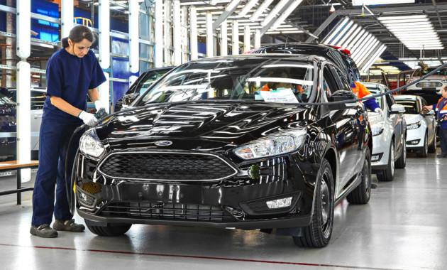 17АвгРоботы помогли собрать около 24 000 автомобилей Ford в России