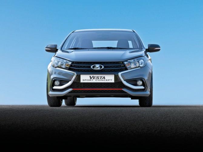 Волжский автомобильный завод выпустит две версии спортивного седана Лада Vesta