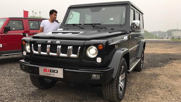 BAIC представил шикарную версию джипа Beijing BJ80