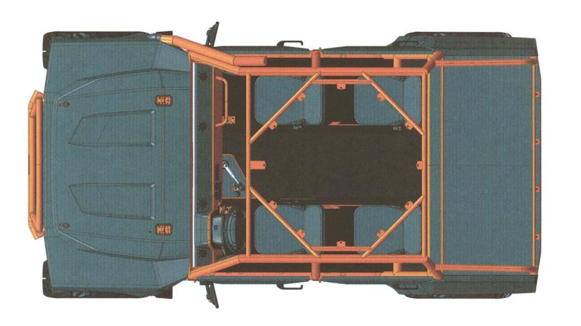 Бывшие инженеры «ГАЗа» создали джип набазе «Соболя»