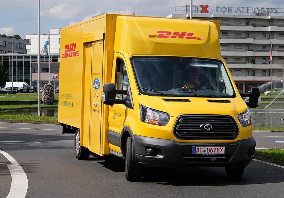 Форд иDHL разработали электрофургон для германской службы доставки