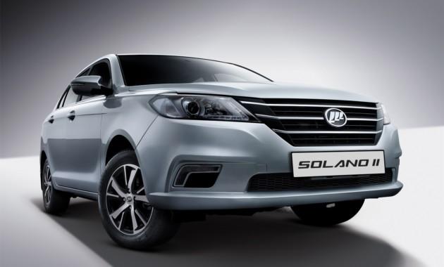 В РФ начались продажи Лифан Solano сновым двигателем