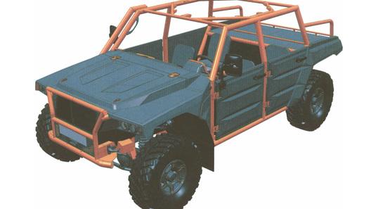 Бывшие инженеры ГАЗа создали новый джип набазе «Соболя»