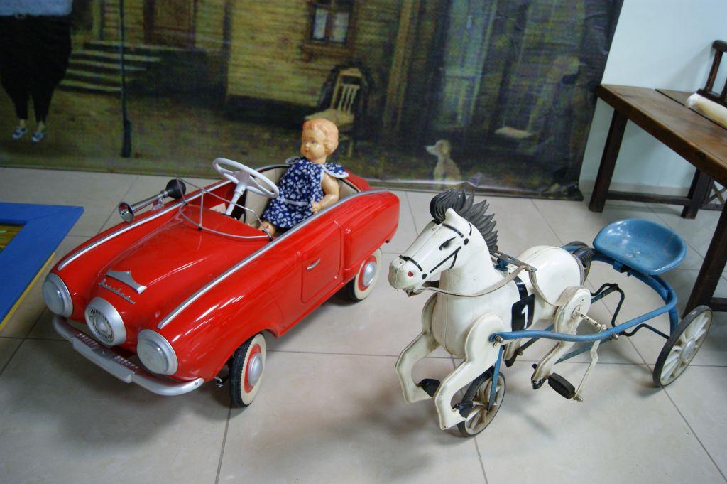 ВКраснодаре открылась выставка детских машинок изСССР