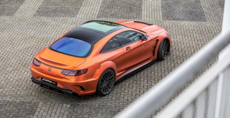 Выяснилось, как тюнинг-ателье изменили Mercedes-AMG S63 Combat Monster