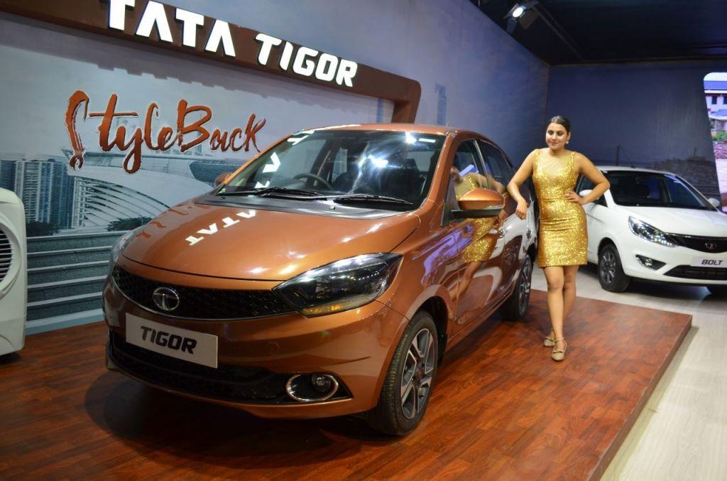 Электромобиль Tata Tigor пока неможет позволить себе рядовой обыватель