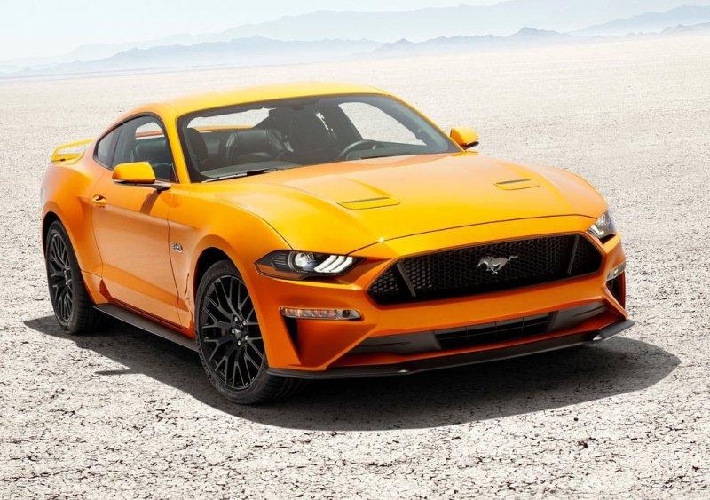Компания RTR показала свою версию Форд Mustang 2018 года