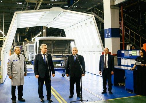 НаКАМАЗе выпустили юбилейный десятитысячный каркас кабины