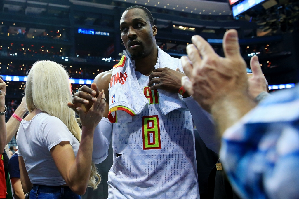 Dwight Howard pulled over for speeding before Atlanta Hawks' Game 6 loss