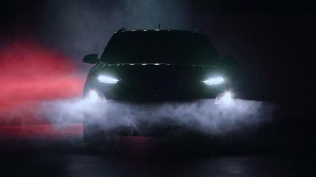 Heads up: Hyundai mostly reveals the Kona crossover
