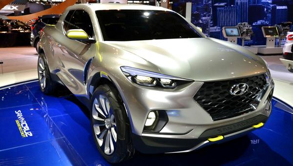 Первый пикап компании Hyundai встанет на конвейер в 2021 году