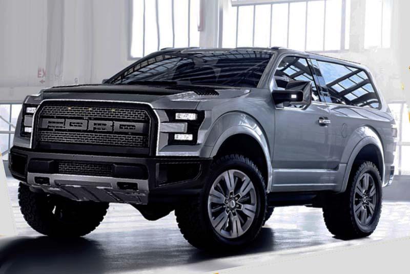 Возрождённый вседорожный автомобиль  Ford Bronco