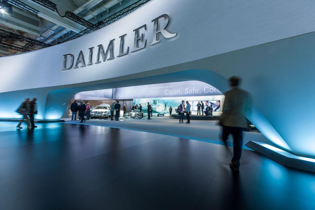 Концерн Daimler разделят натри независимых подразделения