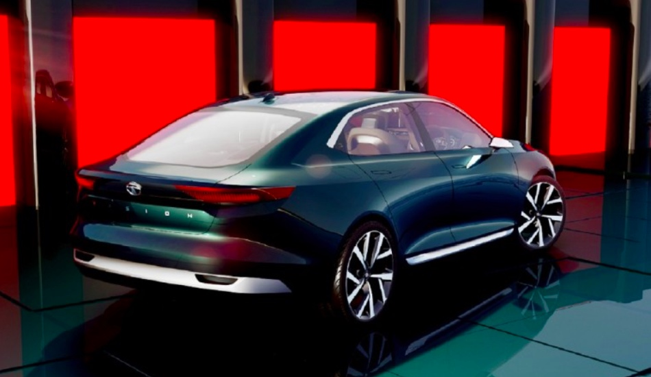 Компания Tata Motors вЖеневе представила новый концептуальный автомобиль седана EVision