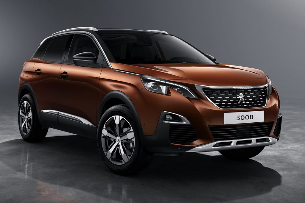Peugeot (Пежо) 3008 попал вТОП-10 хитов европейского авторынка
