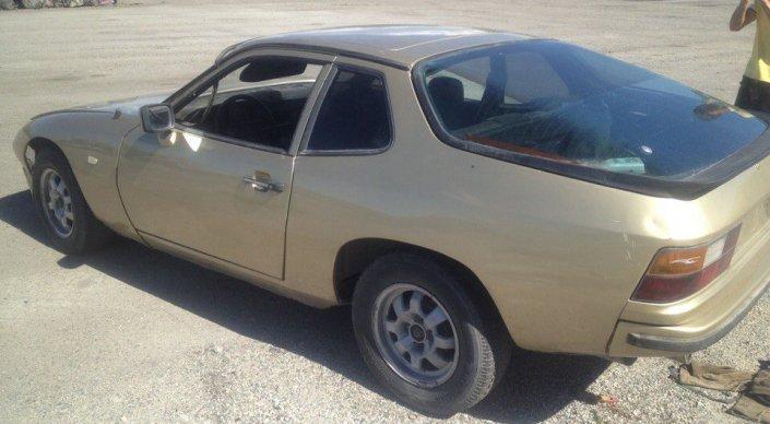 ВКазахстане сдали наутилизацию спорткар Порше 924