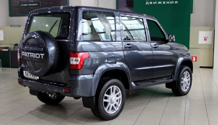 Джип УАЗ «Патриот» получил новые комплектации