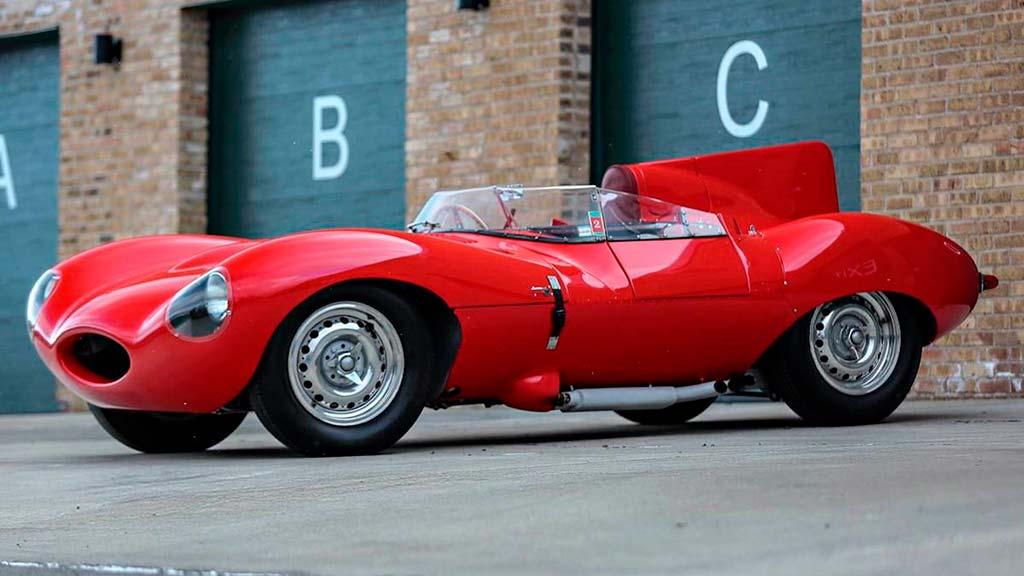 Редкостный Ягуар D-Type 1956 года продадут нааукционе за10 000 000 долларов