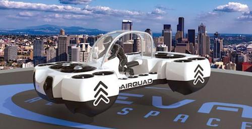 Компания DeLorean Aerospace показала летающий автомобиль