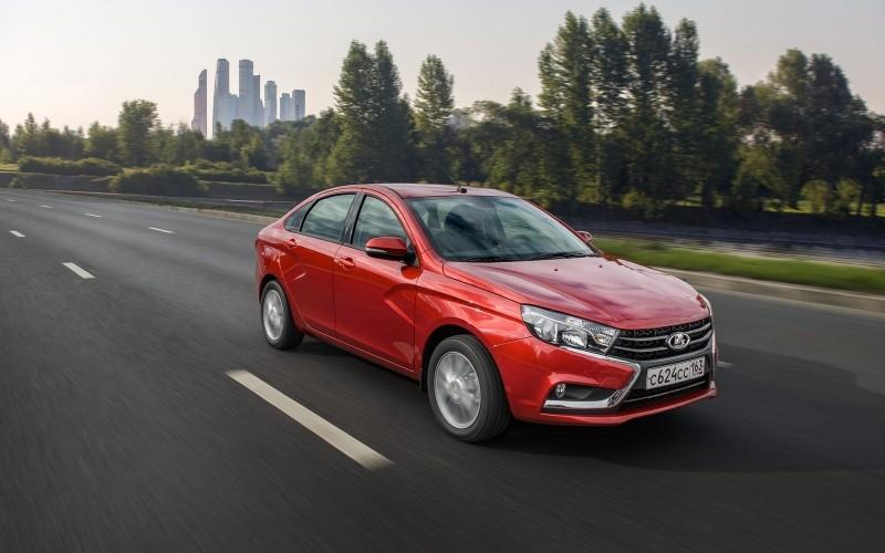Российские модели Lada улучшили позиции ве продаж по Европе