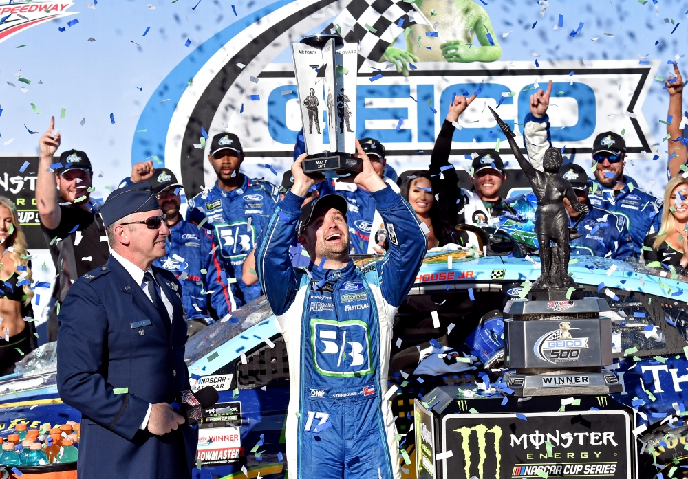 Stenhouse writes new chapter as a NASCAR winner