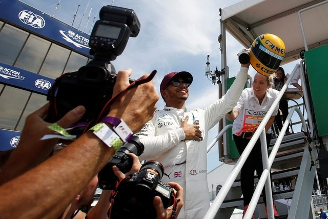 Lewis Hamilton cuts Sebastian Vettel's lead with victory in Canada