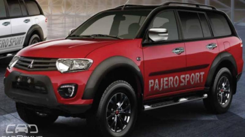 Mitsubishi launched Pajero Sport 'Select Plus' variant