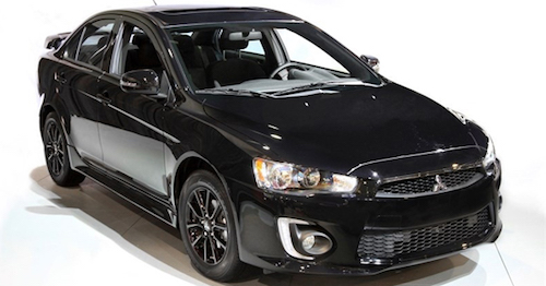 Митцубиси выпустила 400 экземпляров седана Lancer Black Edition