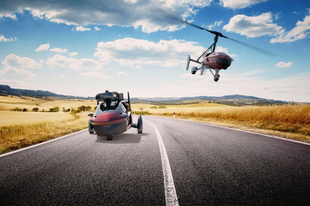 На автомобильное шоу вЖеневе покажут серийный летающий автомобиль