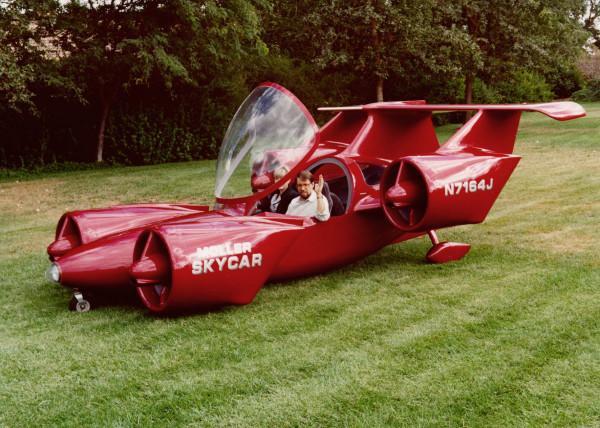 Летающий автомобиль выставлен на реализацию наeBay