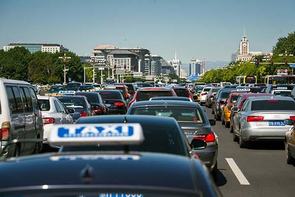 Встолице Китая принята новая квота нарегистрацию авто