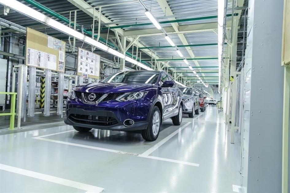 Ниссан отмечает выпуск 150-миллионного автомобиля