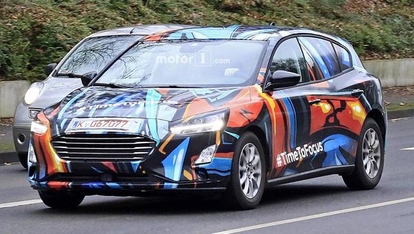Названа дата премьеры обновленного поколения хэтчбека Форд Focus