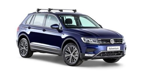 Кроссовер VW Tiguan получил новейшую версию