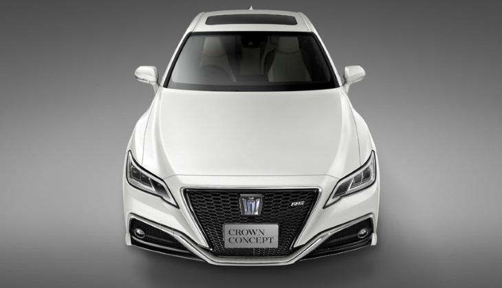 Тойота анонсировала премьеру концептуального седана Crown Concept