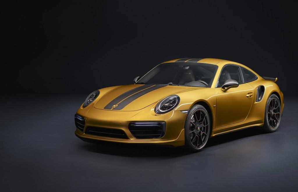 Porsche Introduces 911 Turbo S Exclusive Series