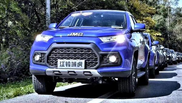 Всередине осени на рынок автомобилей выйдет улучшенный пикап JMC Yuhu