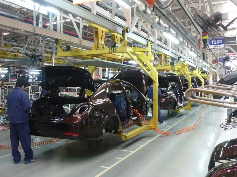 Апрельское автопроизводство вБритании упало на18,2%