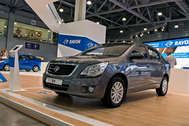 Ravon планирует продать в России более 15 тыс. авто по итогам года