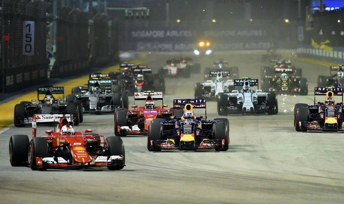 F1 Singapore Grand Prix extended for another four years to 2021