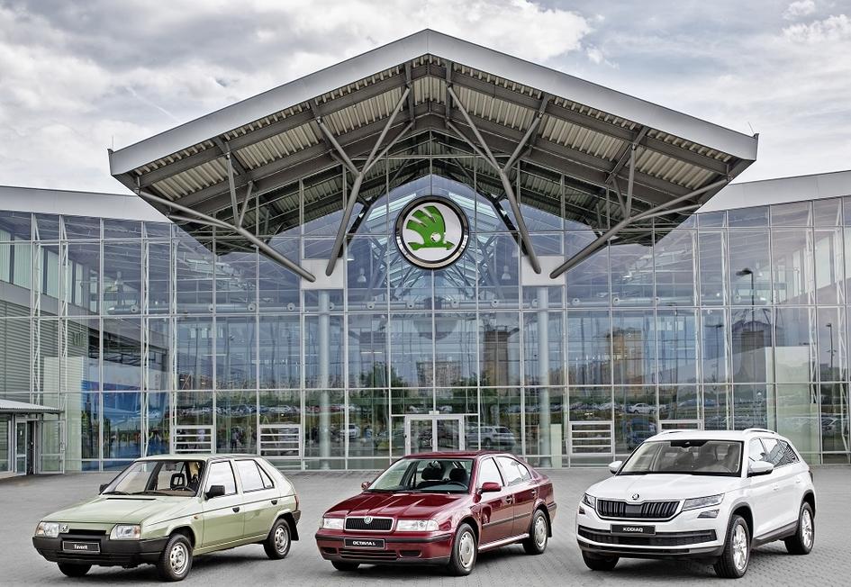 Шкода выпустила 15-миллионный автомобиль всоставе Фольксваген Group