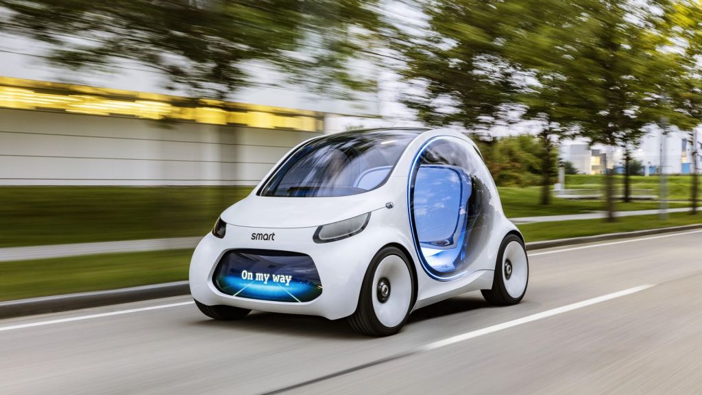 Smart Vision EQ claims to be electric city vehicle of future