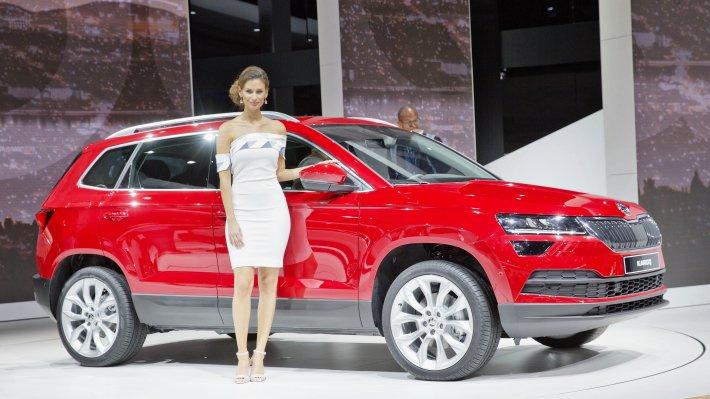VW T-Roc стал лидером среди значимых новинок воФранкфурте