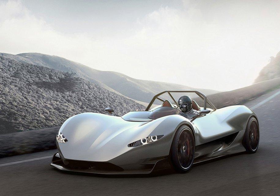 ВИталии создадут сверхлегкий исупербыстрый спорткар SerpaS