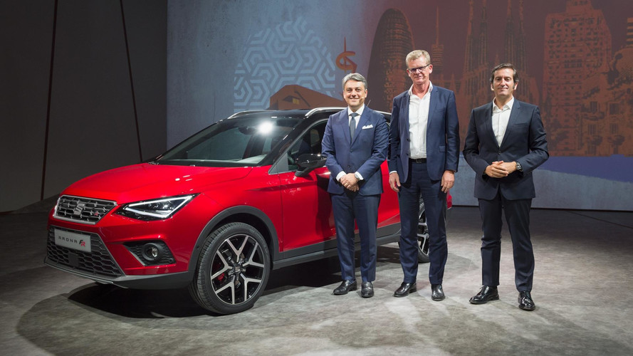 Seat takes covers off new Arona SUV