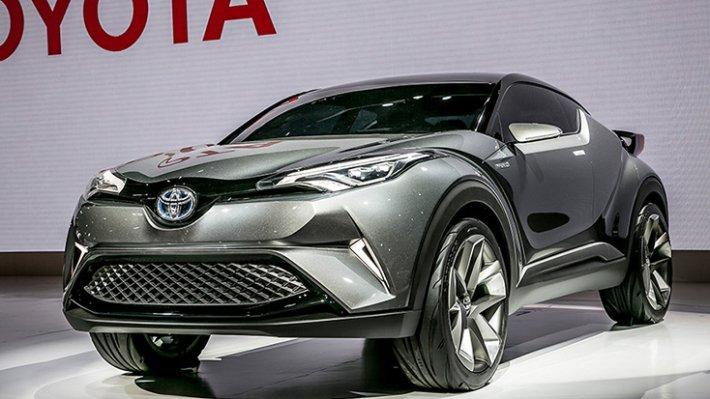 Кроссовер Тоёта C-HR может появиться на автомобильном рынке РФ