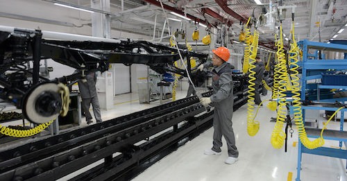 УАЗ разделил линии сборки грузовых илегковых авто