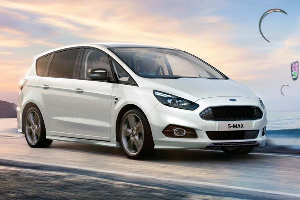 Ford S Max в пакете ST-Line